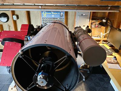 OGS 12.5 & Tak TOA 130S telescopes on the Paramount ME mount