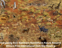 Stargazing from Namibia's NamibRand Nature Reserve, Africa's First International Dark Sky Reserve