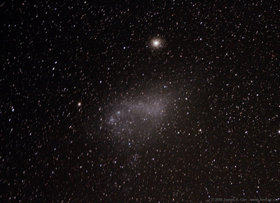 Small Magellanic Cloud & 47 Tucanae - taken from New Zealand later in the trip on Oct 26th