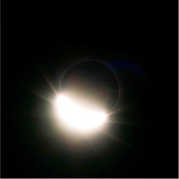 Beginning of totality