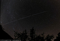 ISS pass over Observatory Hill & Dragon supply ship following