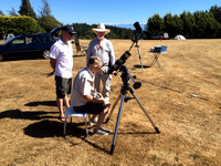 Observing the Sun in Ha