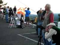 Preparations for 2014's final public observing night