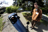 Solar Observing with Alex