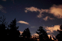 Orion rising over the VCO
