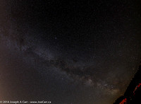 Milky Way widefield and Summer Triangle