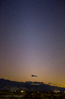 Venus and Mars in Zodiacal light