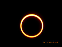 Cedar City Annular Eclipse The Ring of Fire