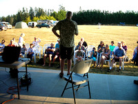 Nelson Walker welcomes Star Party participants