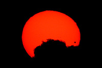 Transit of Venus – Sunset