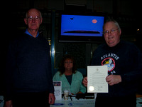John, Sherry and Chris with IYA Proclamation
