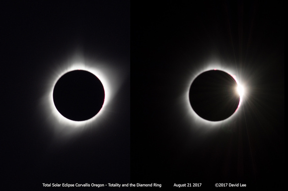 Totality and the Diamond Ring
