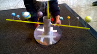 Kids activities - a planetary model