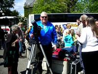 Chris Gainor at the Transi of Venus event in Victoria