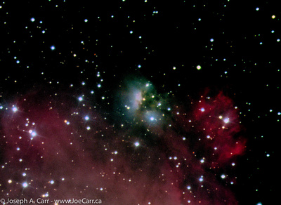 RASC Victoria Centre: Joe Carr &emdash; NGC 2174 emission & reflection nebula