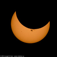 Partial Solar Eclipse - 10 minutes before maximum