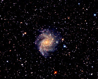 The Fireworks Galaxy, NGC 6946