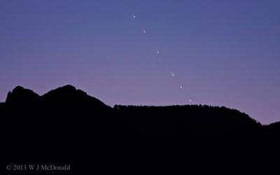 Comet Panstarrs (C2011/L4)