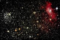 M52 and the Bubble Nebula, NGC 7635
