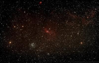 Bubble Nebula region