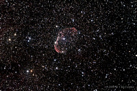 NGC6888 - the Crescent Nebula - August 12, 2009
