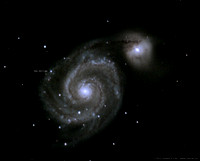 M51 Whirlpool Galaxy with SN 2011dh