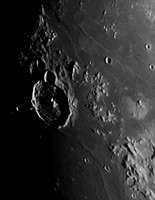 Gassendi Crater on the Moon
