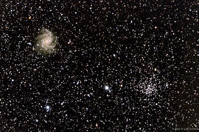 NGC6939 and 6946